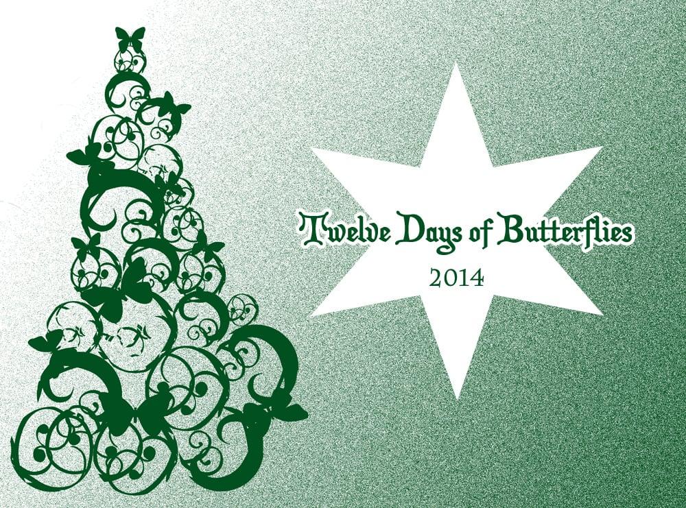 Butterfly Gift Ideas: Twelve Days of Butterflies 2014