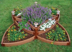 Twelve Butterfly Inspired Designs for your Garden- multi level butterfly raised bed