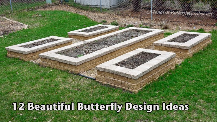 Butterfly Garden Ideas tough as nails perennial garden plan 12 Beautiful Butterfly Designs For Your Garden