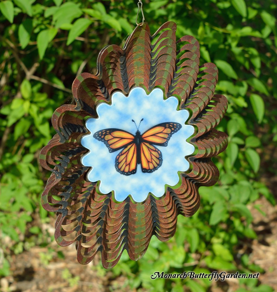 Monarch Butterfly Spinner For Butterfly Garden  Birthday Gift Idea