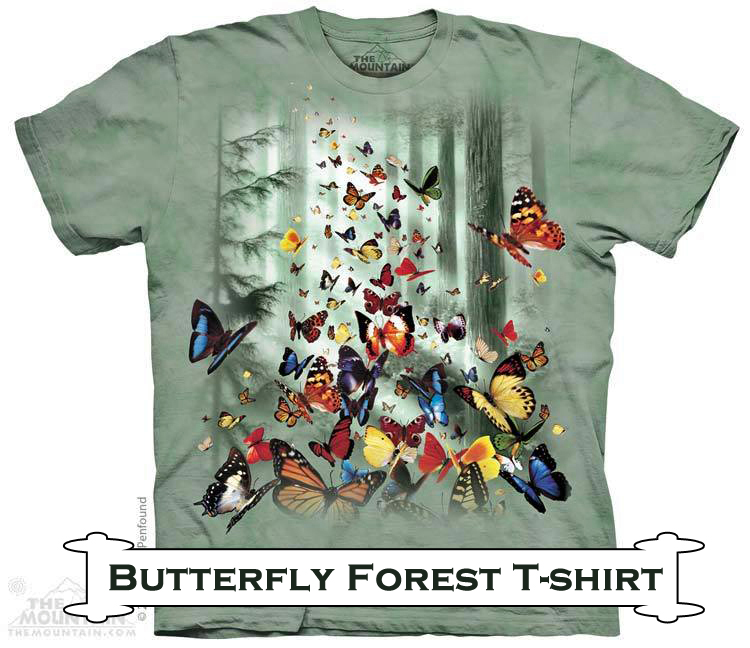 Butterfly Forest T-shirt- Gift Idea 9