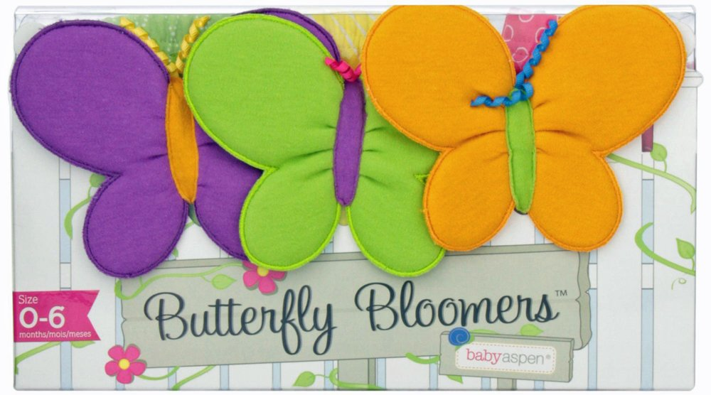 Baby Shower Gift Ideas- Baby Butterfly Bloomers give Baby's Back End Wings.