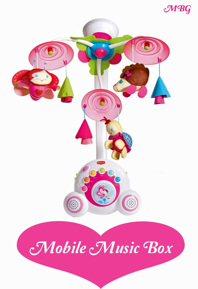Butterfly Mobile Music Box- Baby Shower Gift Ideas