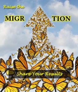 Raising Hope for the 2018 Monarch Migration- Raise The Migration 6 Results