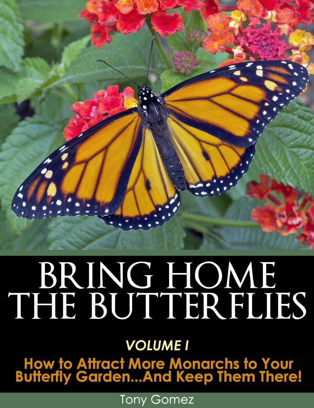 Monarch Butterfly Garden Book Instant Download