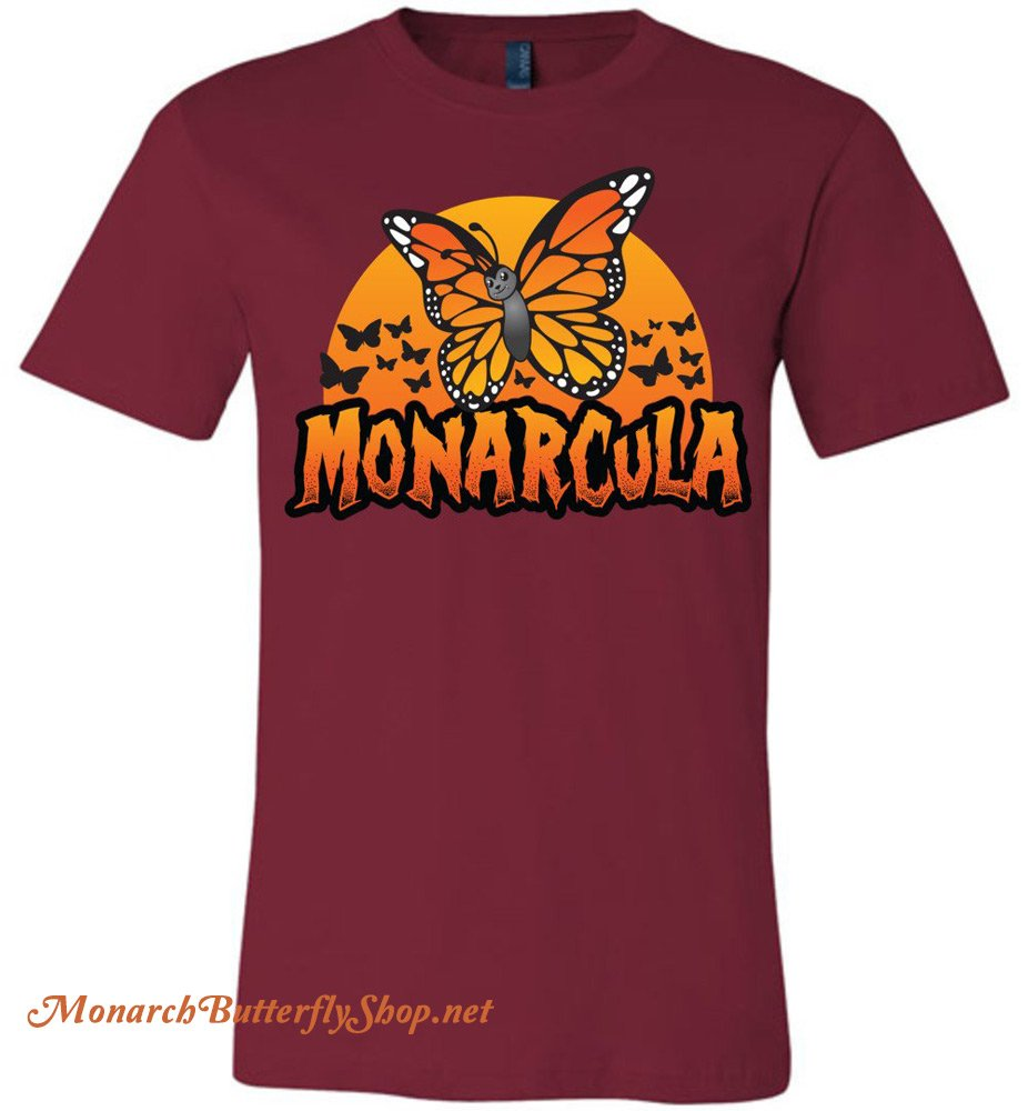 Monarcula & The Batterflies Halloween Costume Premium Butterfly T-shirt