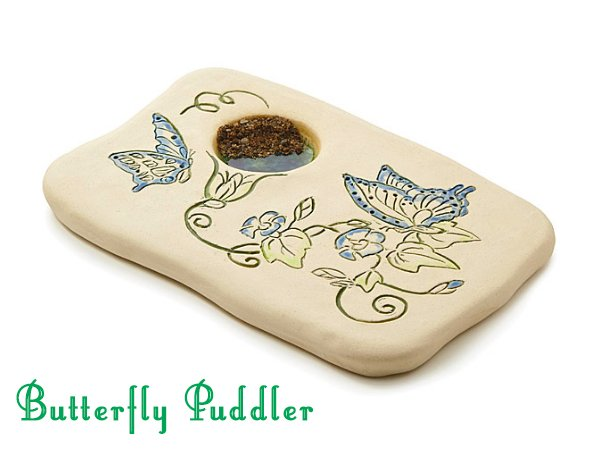Butterfly Puddler with Beautiful Butterfly Design- Butterfly Gift Idea