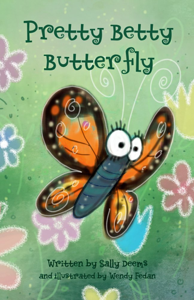 Pretty Betty Butterfly- a colorful picture book for children. The story is short and sweet, while the illustrations are truly magical.