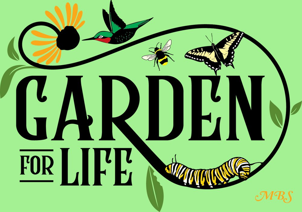 Garden for Life Save Our Pollinators T-shirt Collection