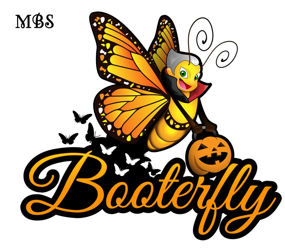 Booterfly Halloween Butterfly Tshirts Collection