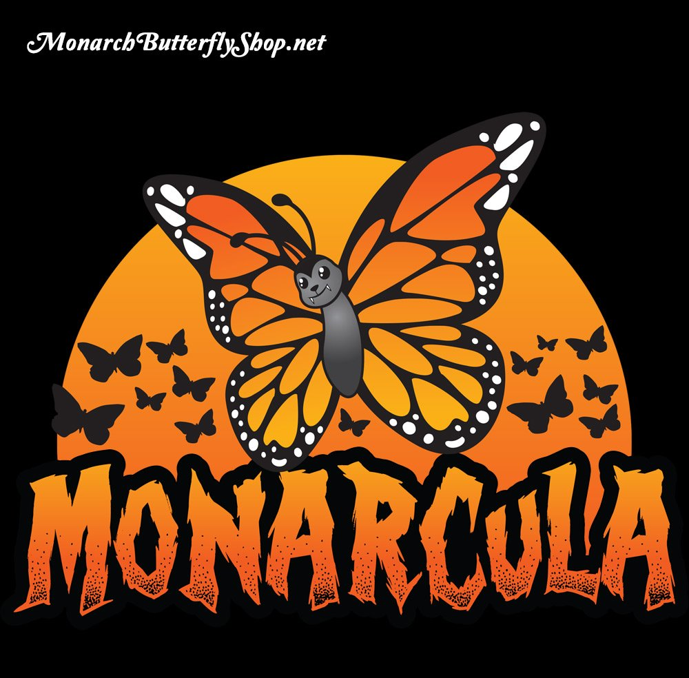Monarcula Halloween Monarch Butterfly T-shirt Collection
