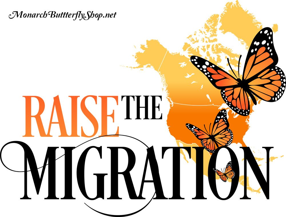 Raise The Migration Monarch Butterfly T-shirts