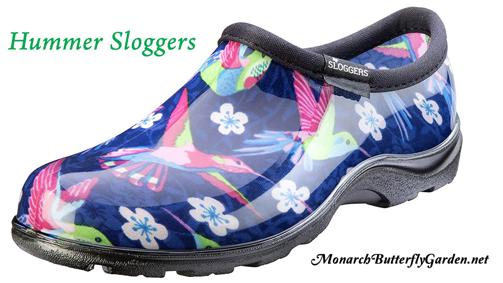 8 Mother's Day Gift Ideas- Water Proof, Hummingbird Gardening Shoes