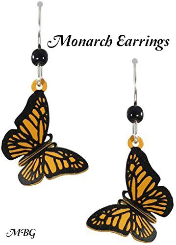 Monarch Butterfly Earrings- Gift Idea