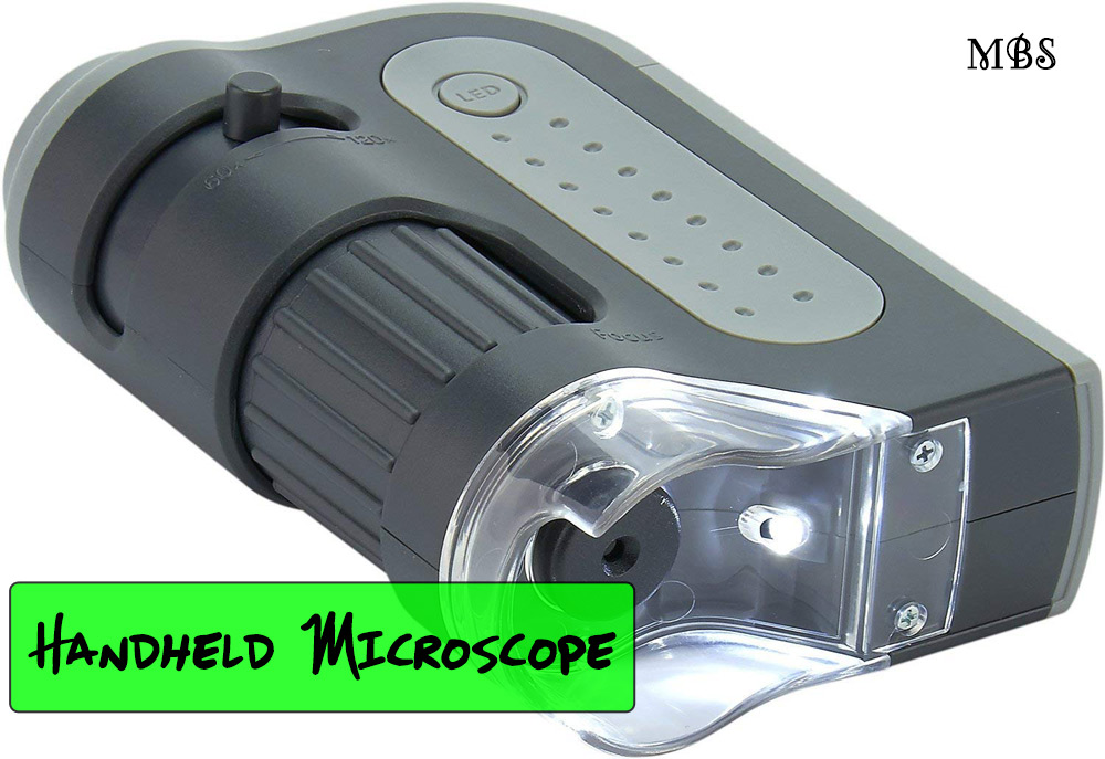 LED Portable Handheld Microscope for testing Monarch OE parasites