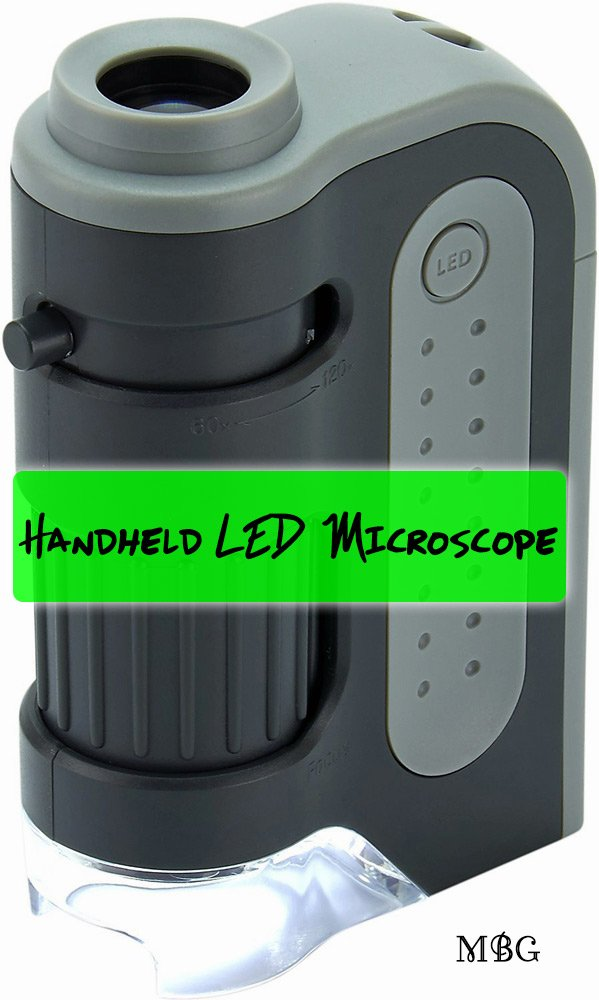 Handheld Microscope for testing Monarchs for OE parasites- Gift Idea for Butterfly Raisers