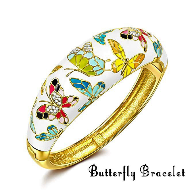Spring of Versailles Butterfly Bracelet- Gift Idea