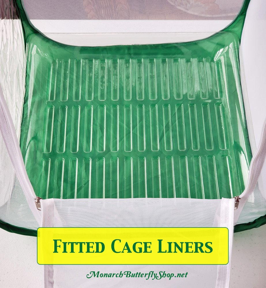 Poo Poo 2- Fitted Caterpillar Cage Liner for easy cage cleaning and stable portability