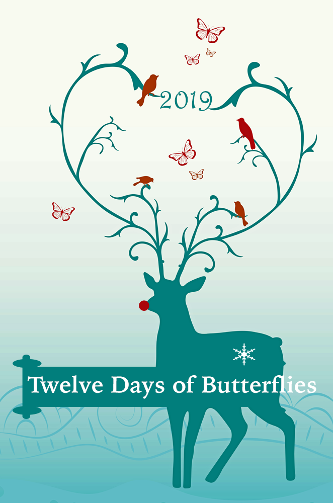Twelve Days of Butterflies 2019- 12 butterfly gift ideas to make a butterfly lovers heart flutter.