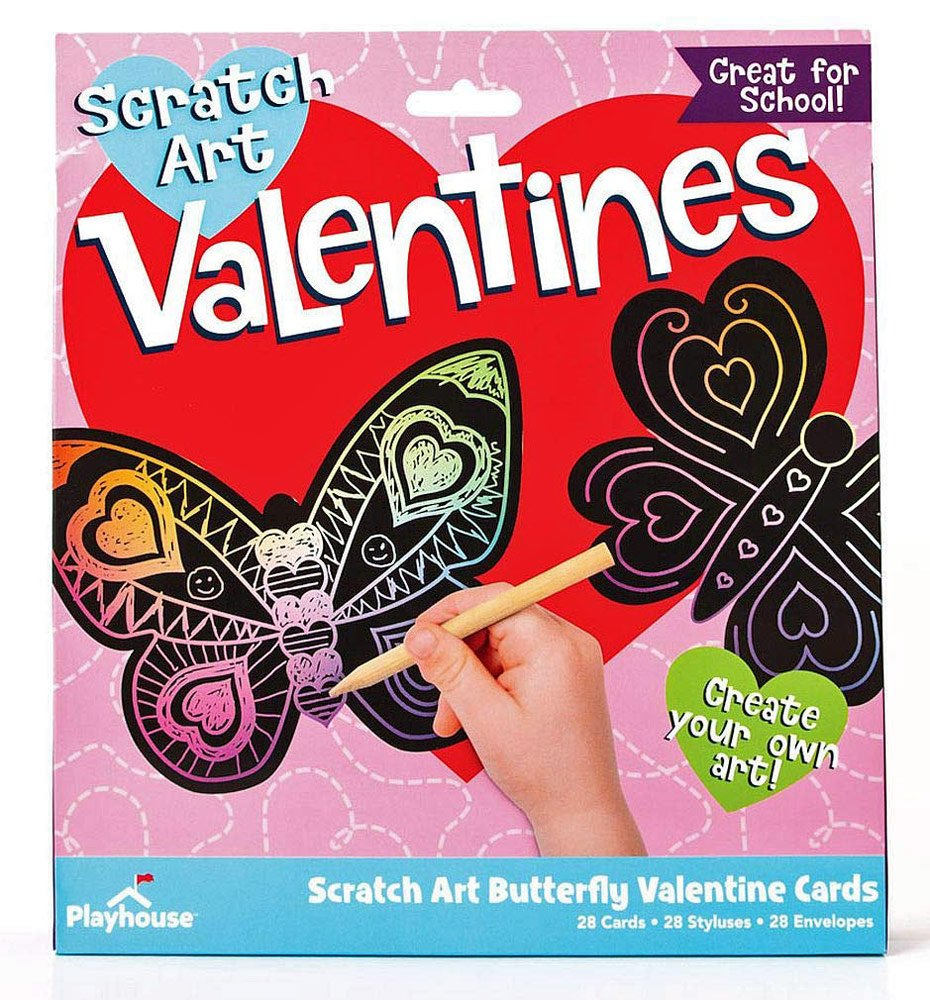 28 Large Butterfly Valentine Cards for School Classmates or your Butterfly Friends