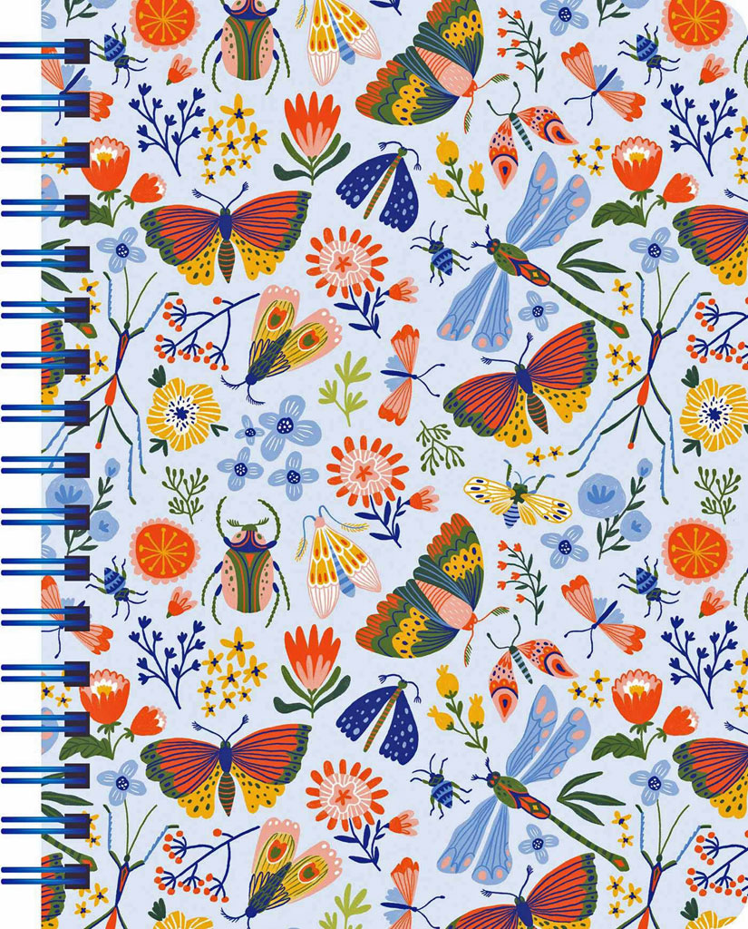 Garden Creatures 2021 Weekly and Daily Planner