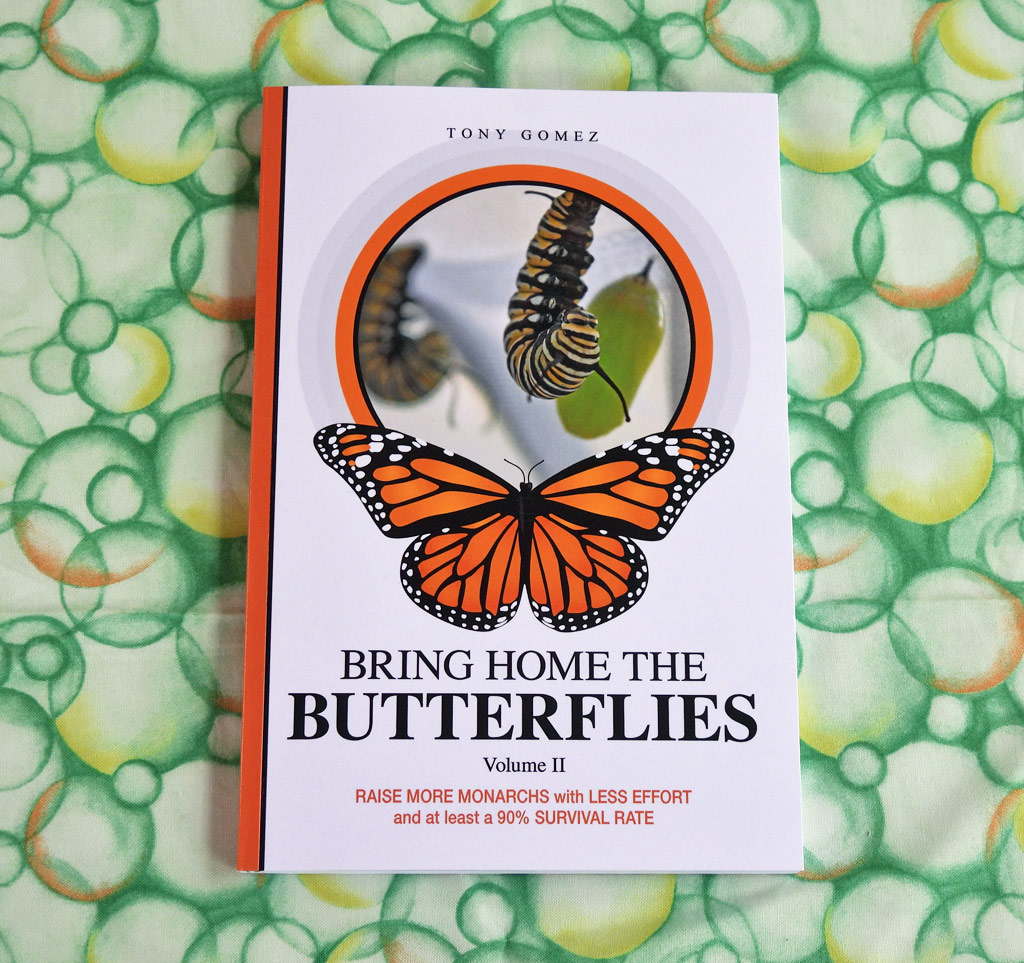 How To Raise Monarchs Book- Print Paperback Version